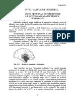 Capitolul 15 - Accidentul Vascular Cerebral1