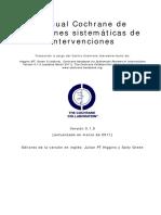 COCHRANE_Manual de Revisiones Sistemáticas
