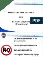 Normas 2018