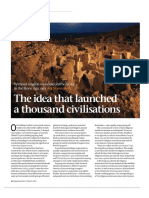 Ara Norenzayan - The Idea That Launched a Thousand Civilizations (New Scientist, 07-03-2012)