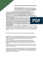 Activado El Órgano Municipal de Direccion de Defensa Integral de La Nación en Monagas