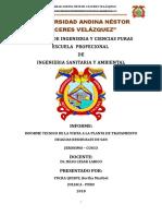 Informe de Larico Senayda