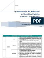 Perfiles y Competencias - Internacional 2015