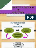 Diapositivas Procedimeintos y Tecnicas de Auditoría