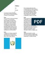 Himnos Nacionales de Centroamerica
