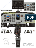 KingAir200 Cockpit Layout