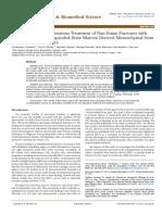 Non Union Fracture Research Paper