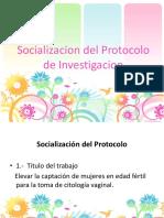 Socializacion Del Protocolo