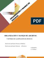 Sistemas de Clasificación y Principios Básicos.