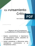 Manual El  pensamiento crtico