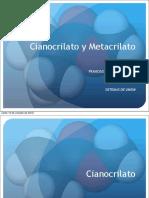 Cianocrilato y Metacrilato 1