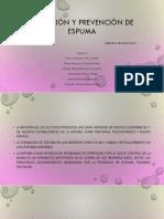 Detección y Prevención de Espuma