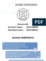 CHAPTER 12 Income Statement
