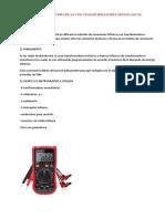 Conexiones Trifasicas Con Transformadores Monofasicos