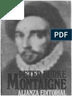 Peter Burke Montaigne