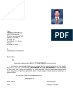 QAQC Civil Victor) CV