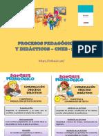 Proceso Pedaggicos y Didácticos 2018