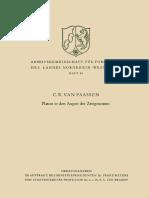 [C. R. Van Paassen (Auth.)] Platon in Den Augen Der Zeitgenossen