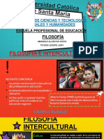 Filosofia INTERCULTURAL