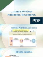 Sistema Nervioso Autónomo y Receptores