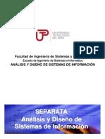 UTP - Analisis y Diseño de Sistemas de Informacion - S01a