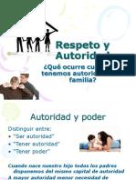 La Autoridad en La Familia