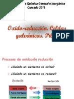 Óxido Reducción Electrólisis