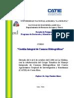Curso Gestion de Cuencas Peru