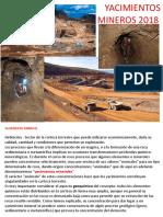 2018 Geometa Clases 7 Yacimientos