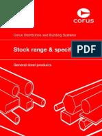Corus Stock Range