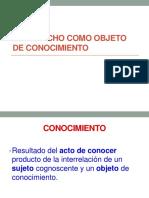 (1)2015 Ud 1 El Derecho Como Objeto de Conocimiento