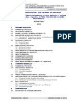 Perfil Técnico Electrificacion villa rica