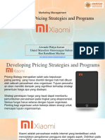 XIAOMI - Pricing Strategy