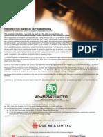 Adampak Prospectus (Clean)