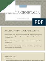 Fistula Genetalia