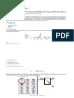 Simulacion de un motor DC en Labview