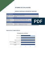 Informe - Sergio Sifuentes