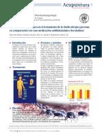 Efectos de la acupuntura en el tratamiento de la rinitis alérgica perenne en comparación con una medicación antihistamínica (loratadina)