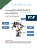 Copia Movimientos Emulado en Un Brazo Robot