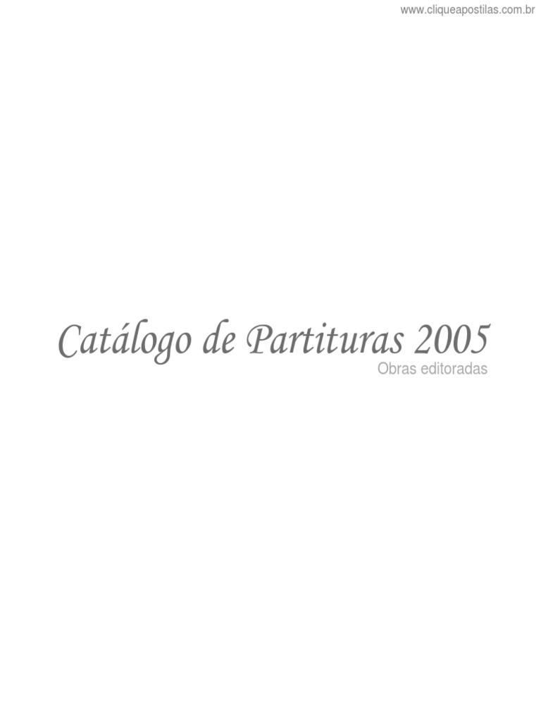 533cbbce72  Cliqueapostilas.com.Br  Catalogo de Partituras de Cavaco