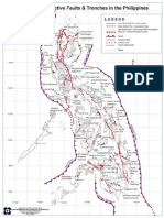 Philippines Active Faults and Trenches