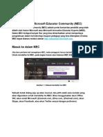 Petunjuk MEC v2.0