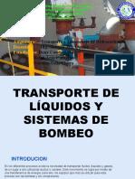 EXPOSICION Transporte de Liquidos y Bombas