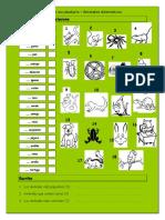 Vocabulario Animales Domesticos Hoja de Trabajo 22128