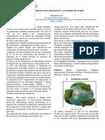Protocolo de Kioto y Acuerdo de Paris1
