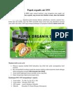 HUB.0823*2292*4990. Distributor pupuk organik cair SNN, Jual Pupuk organik cair terbaik, Harga pupuk organik SNN Yogyakarta