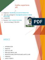 Investigación Proceso o Diseño Ante El IMPI.aguiRRE ROMERO GALO EXPO