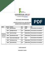 Calendário Das Provas de Desempenho Didático - Retificado