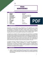 Silabo Neurociencias I. BLEARNING 2018 I (1)