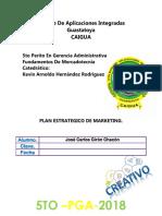 Plan Estrategico de Marketing Jose Carlos Giron